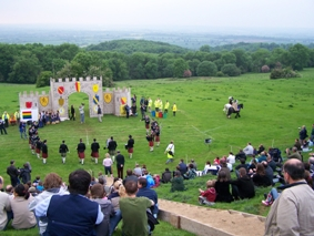 Chipping Campden - Where 2012 is the 400 year anniversary of Robert Dovers Cotswold Olimpicks