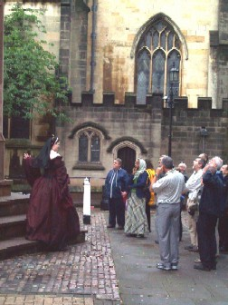 Costumed tour in Medieval Coventry