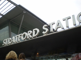 Stratford East London - Home of the 2012 Olympic Park