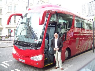 Coach tours of Olympic sites