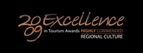 2009 Excellence in Tourism award
