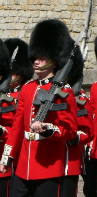 Guardsman at Windsor Castle